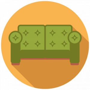 Wohnzubehör symbol