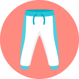 Sportbekleidung symbol