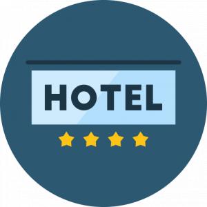Hotels symbol